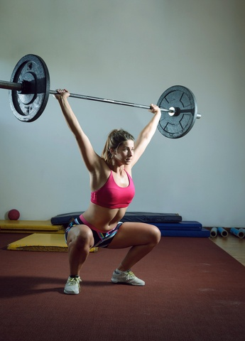 Weight training is great for postnatal women, but it should be modified for each individual's needs.