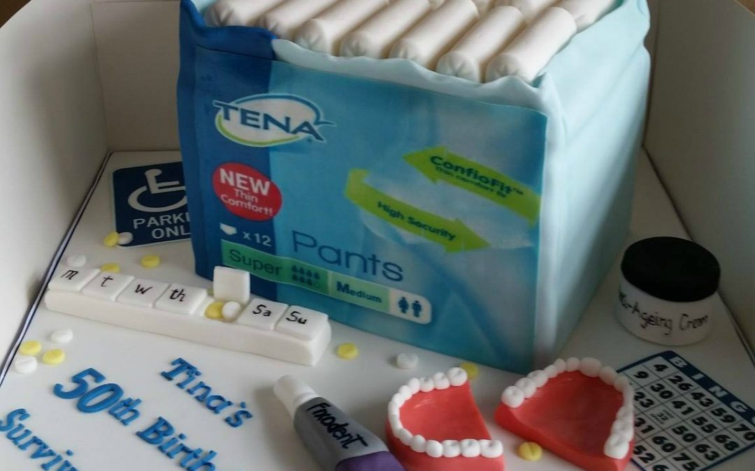 Anyone for incontinence cake?