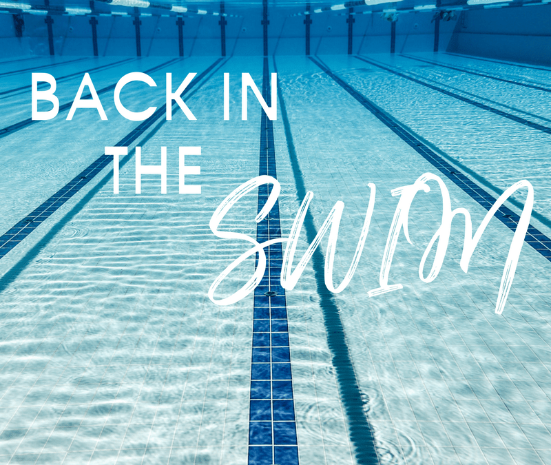 Back in the Swim – My Wellbeing Journey