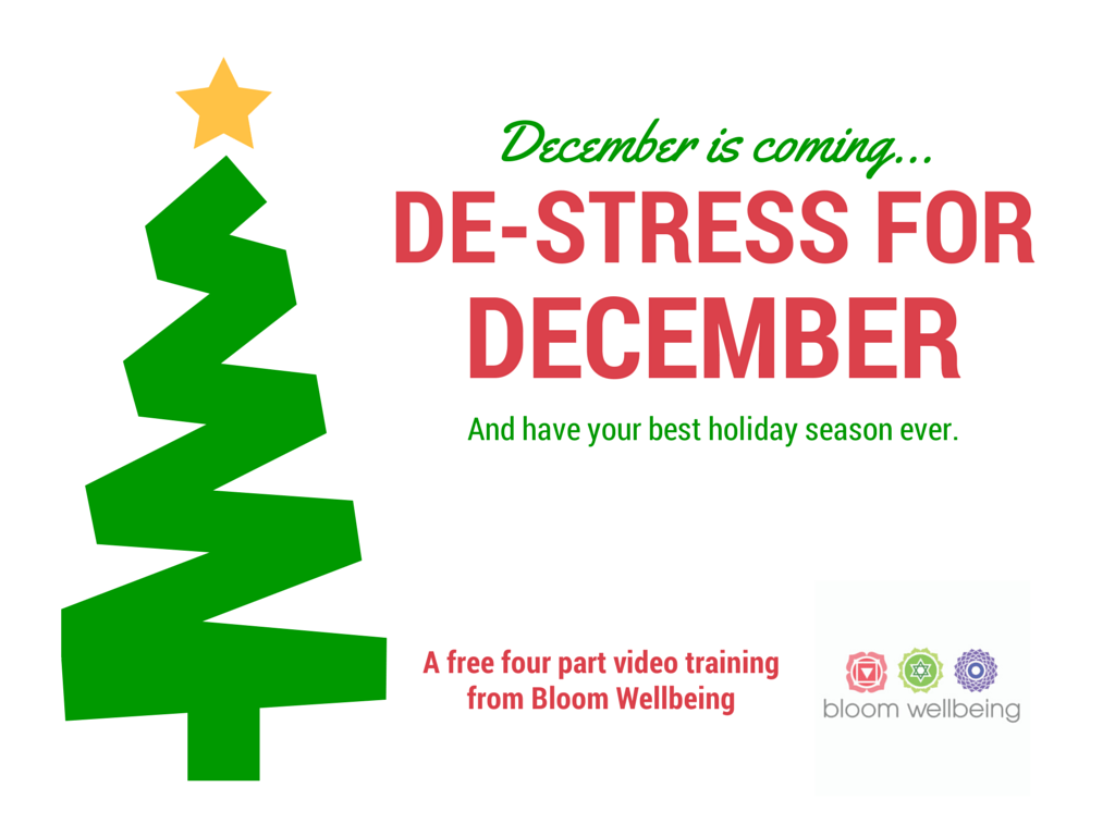 De-Stress for December