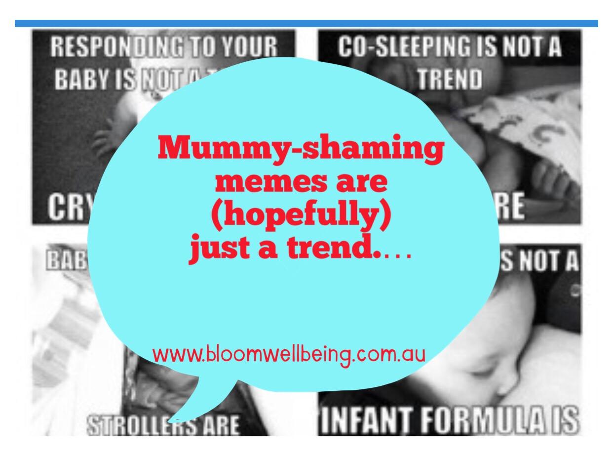 No more Mummy Wars.