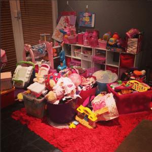 Toys. So many toys.