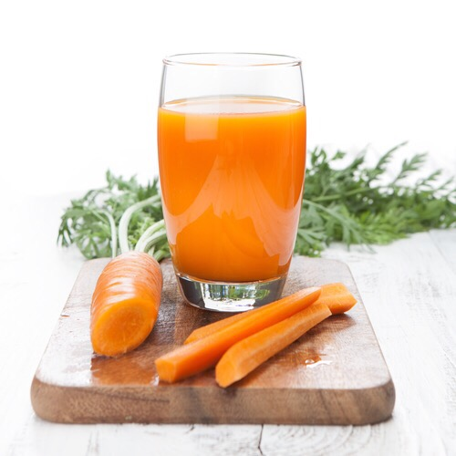 The day I cried over carrot juice.